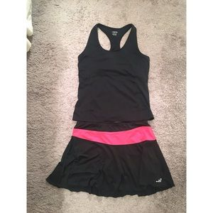 Tennis Skirt & Tank